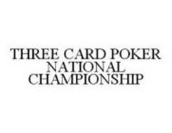 THREE CARD POKER NATIONAL CHAMPIONSHIP