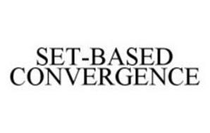 SET-BASED CONVERGENCE