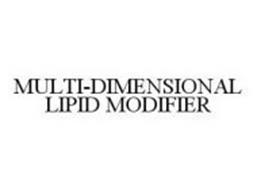 MULTI-DIMENSIONAL LIPID MODIFIER