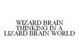 WIZARD BRAIN THINKING IN A LIZARD BRAIN WORLD