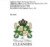 THE CLEANING PALACE CLEANERS