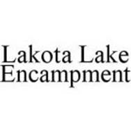 LAKOTA LAKE ENCAMPMENT