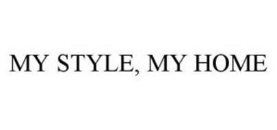 MY STYLE, MY HOME