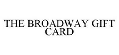 THE BROADWAY GIFT CARD