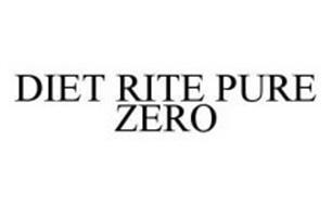 DIET RITE PURE ZERO