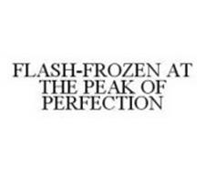 FLASH-FROZEN AT THE PEAK OF PERFECTION