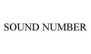 SOUND NUMBER
