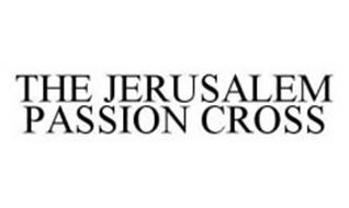 THE JERUSALEM PASSION CROSS