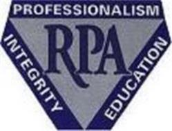 RPA PROFESSIONALISM INTEGRITY EDUCATION