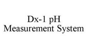 DX-1 PH MEASUREMENT SYSTEM