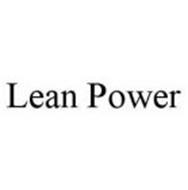 LEAN POWER