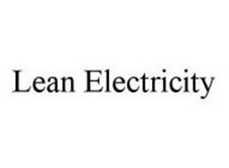 LEAN ELECTRICITY