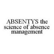 ABSENTYS THE SCIENCE OF ABSENCE MANAGEMENT