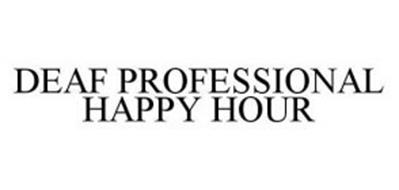 DEAF PROFESSIONAL HAPPY HOUR