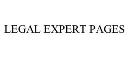 LEGAL EXPERT PAGES