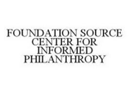 FOUNDATION SOURCE CENTER FOR INFORMED PHILANTHROPY