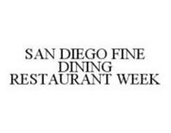 SAN DIEGO FINE DINING RESTAURANT WEEK