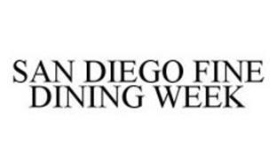 SAN DIEGO FINE DINING WEEK