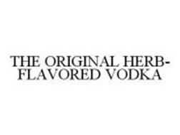 THE ORIGINAL HERB-FLAVORED VODKA