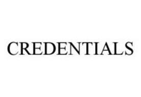 CREDENTIALS
