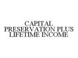 CAPITAL PRESERVATION PLUS LIFETIME INCOME