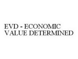 EVD - ECONOMIC VALUE DETERMINED
