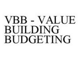 VBB - VALUE BUILDING BUDGETING