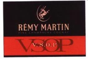 REMY MARTIN FINE CHAMPAGNE COGNAC VSOP V.S.O.P