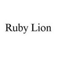 RUBY LION