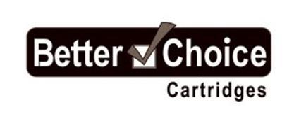 BETTER CHOICE CARTRIDGES