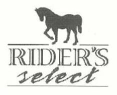 RIDER'S SELECT