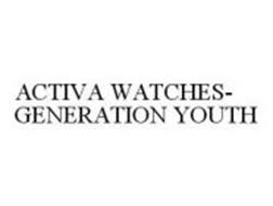 ACTIVA WATCHES-GENERATION YOUTH