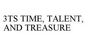 3TS TIME, TALENT, AND TREASURE