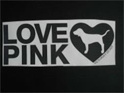 LOVE PINK VICTORIA'S SECRET