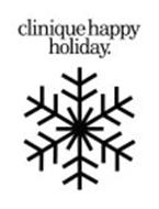 CLINIQUE HAPPY HOLIDAY.