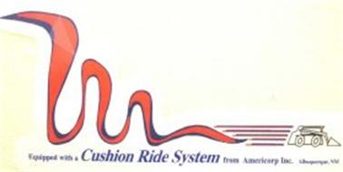 EQUIPPED WITH A CUSHION RIDE SYSTEM FROM AMERICORP INC.  ALBUQUERQUE, NM
