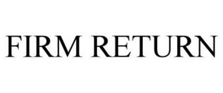 FIRM RETURN