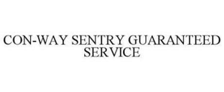 CON-WAY SENTRY GUARANTEED SERVICE