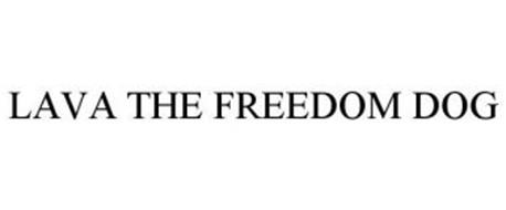 LAVA THE FREEDOM DOG