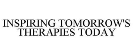 INSPIRING TOMORROW'S THERAPIES TODAY