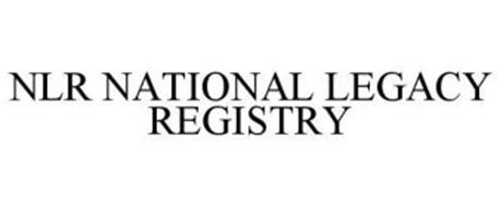 NLR NATIONAL LEGACY REGISTRY