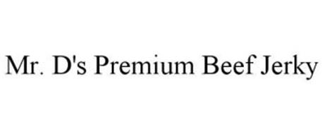 MR. D'S PREMIUM BEEF JERKY