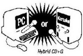 PC OR KARAOKE HYBRID CD+G