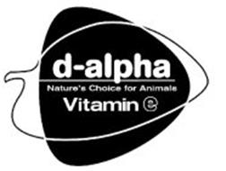 D-ALPHA NATURE'S CHOICE FOR ANIMALS VITAMIN E