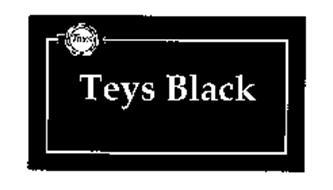TEYS TEYS BLACK