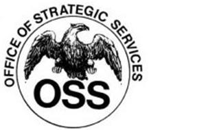 OSS OFFICE OF STRATEGIC SERVICES