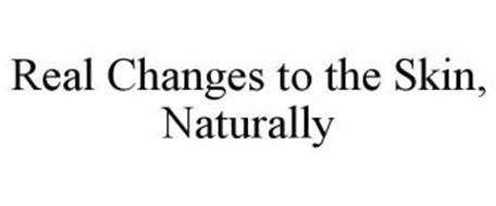 REAL CHANGES TO THE SKIN, NATURALLY