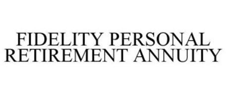 FIDELITY PERSONAL RETIREMENT ANNUITY