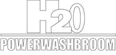 H20 POWERWASHBROOM