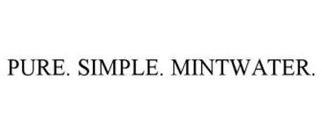 PURE. SIMPLE. MINTWATER.